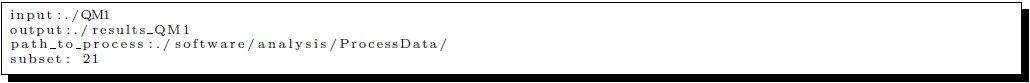Figure 1: Format of conguration file read by splitter.py.